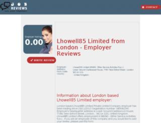 lhowell85-limited.job-reviews.co.uk screenshot