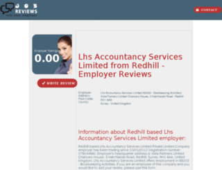 lhs-accountancy-services-limited.job-reviews.co.uk screenshot