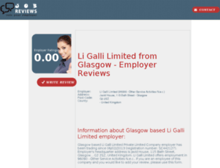 li-galli-limited.job-reviews.co.uk screenshot
