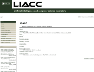 liacc.up.pt screenshot