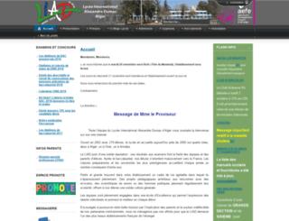 liad-alger.fr screenshot