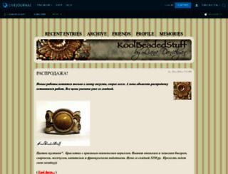 lianabeadart.livejournal.com screenshot
