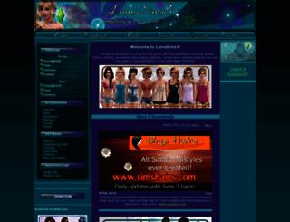 lianasims3.net screenshot