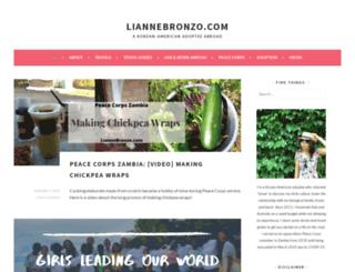 liannebronzo.com screenshot