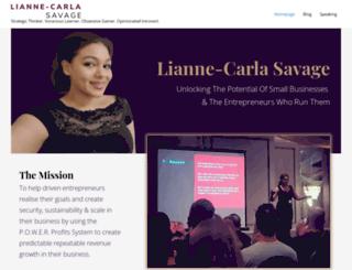 liannecarlas.com screenshot