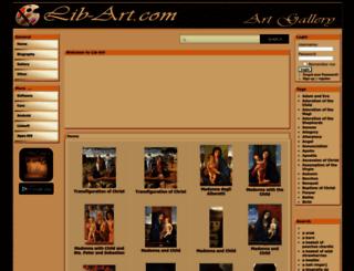 lib-art.com screenshot