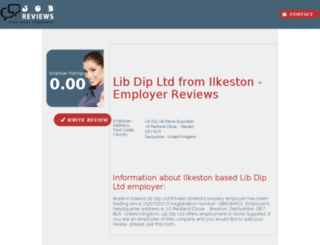 lib-dip-ltd.job-reviews.co.uk screenshot