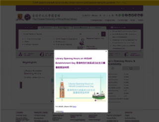 lib.cuhk.edu.hk screenshot
