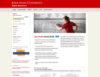 lib.dr.iastate.edu screenshot