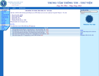 lib.hcmulaw.edu.vn screenshot