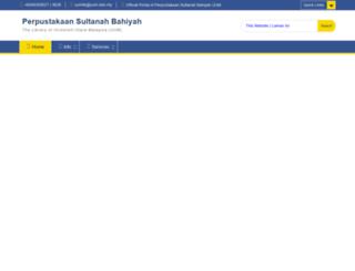 lib.uum.edu.my screenshot
