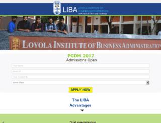 liba.careers360.com screenshot