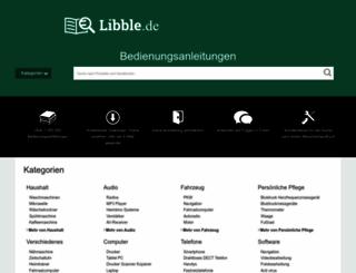 libble.de screenshot