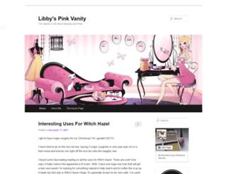 libbyspinkvanity.com screenshot
