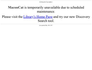 libcatalog.rmc.edu screenshot