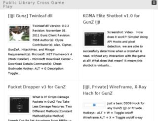 libcross.com screenshot