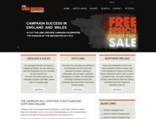 libelreform.org screenshot