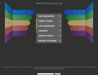 liberainformazione.org screenshot