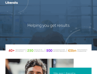 liberata.com screenshot