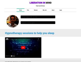 liberationinmind.com screenshot