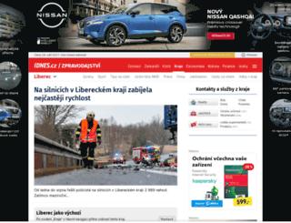 liberec.idnes.cz screenshot