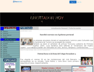 libertadorhoy.8k.com screenshot