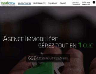 liberte-immo.com screenshot