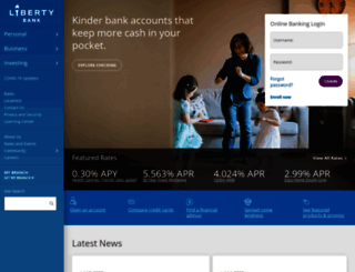 liberty-bank.com screenshot