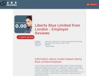 liberty-blue-limited.job-reviews.co.uk screenshot