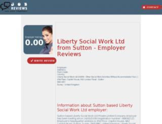 liberty-social-work-ltd.job-reviews.co.uk screenshot
