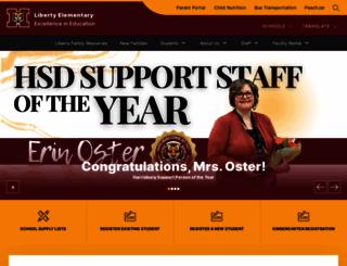liberty.harrisburgdistrict41-2.org screenshot