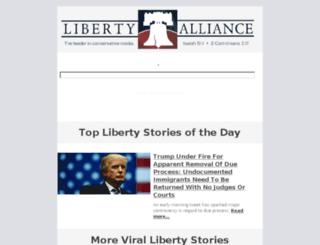 libertyalliance.com screenshot