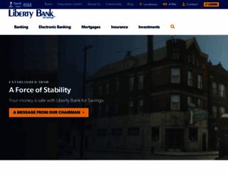 libertybank.com screenshot