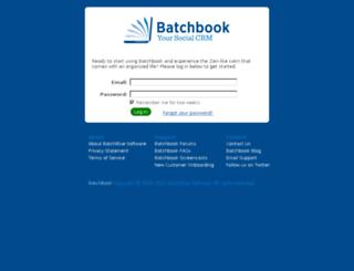 libertydata.batchbook.com screenshot