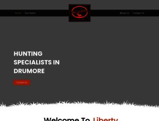 libertyhollowhunts.com screenshot