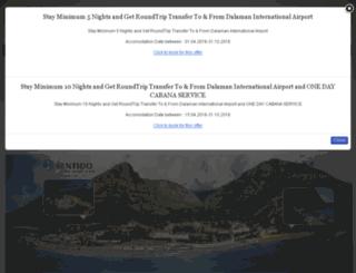libertyhotelslykia.reserve-online.net screenshot