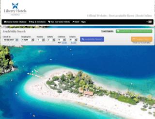 libertyhotelsoludeniz.reserve-online.net screenshot