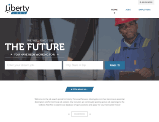 libertyjobs.net screenshot