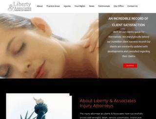 libertylawfirm.com screenshot