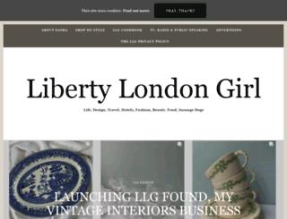 libertylondongirl.com screenshot