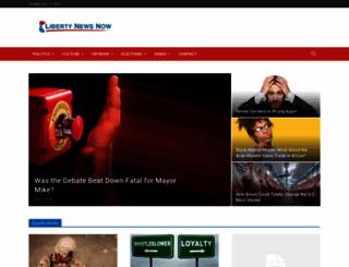 libertynewsnow.com screenshot
