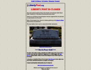 libertypost.org screenshot