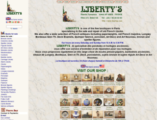 libertys.com screenshot