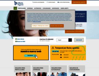 libertyseguros.es screenshot