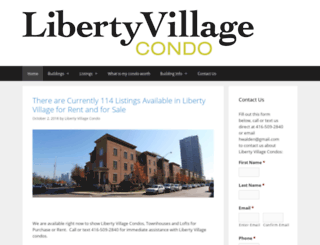 libertyvillagecondo.com screenshot