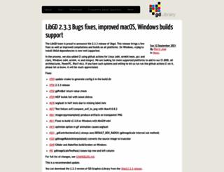 libgd.org screenshot