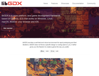 libgdx.badlogicgames.com screenshot