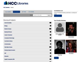 libguides.hccfl.edu screenshot