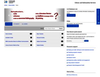 libguides.jcu.edu.au screenshot