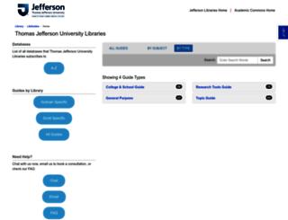 libguides.philau.edu screenshot